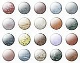 Glossy Marble buttons