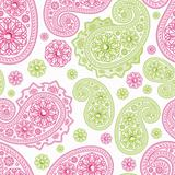 Seamless Background with paisleys.