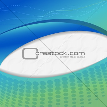 Abstract blue and green Background. Vector illustration.