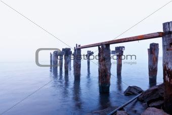 Broken Boat Dock