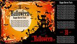 Suggestive Halloween Party Flyer for Entertainment Event