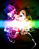 Artistic Grunge Abstract Background