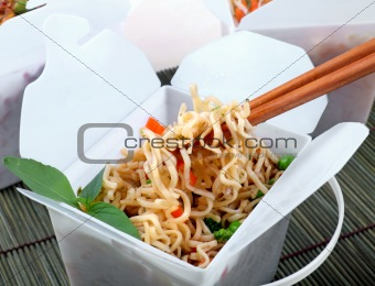 Take Out Chinese Noodles