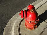 Round fire hydrant