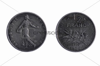 Franc coins