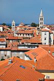 roofs of Zadar