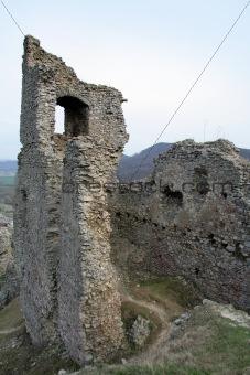 Brekov castle ruins