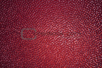 Abstract background - red glass with drops