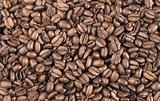 high quality fresh roasted coffee beans close