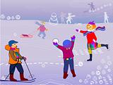 children winter sports