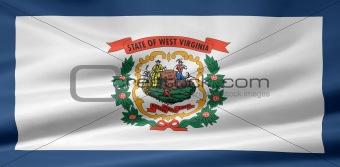 Flag of West Virginia - USA