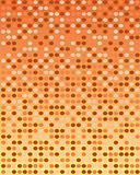 Orange retro background