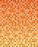Orange retro background