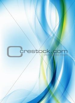 abstract blue futuristic design