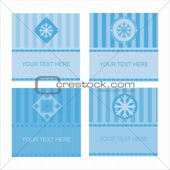 cute winter frames