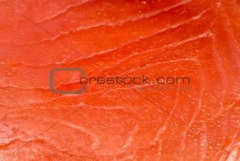 Smoked salmon texture