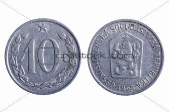 Czechoslovakia coins macro