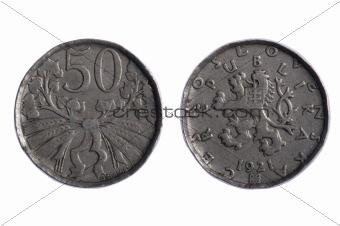 Czechoslovakia coins