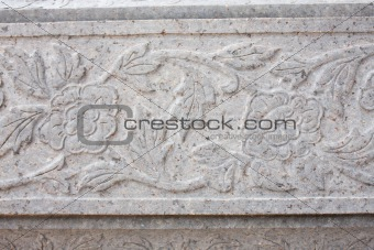 art thai on stone