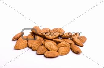 Almond pile
