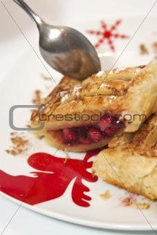 apple and cherry pie