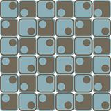 A retro, repeating vector pattern