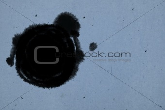 circle inkblot