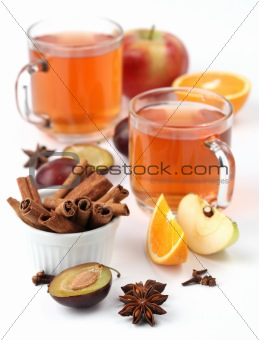 Spicy winter drink