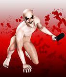 Bloody Bone Saw Clown