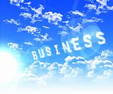 caption associated with the business