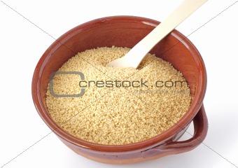 Bowl of couscous