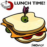 Sandwich Drawing