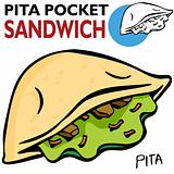 Pita Pocket Sandwich