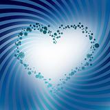 Frame of heart, love theme