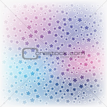abstract christmas background colorful stars