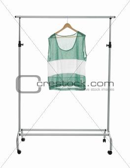 Green sport shirt