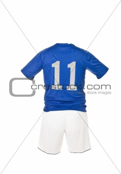 Football shirt with number 11