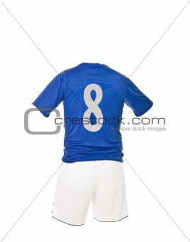 Football shirt with number 8