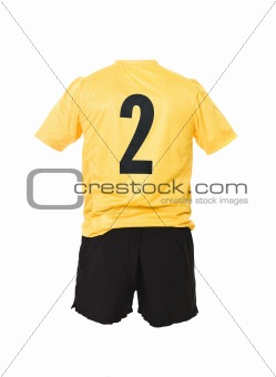 Football shirt with number 2