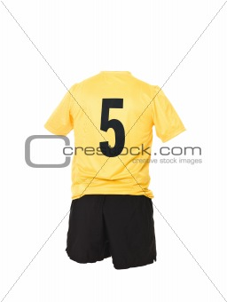Football shirt with number 5