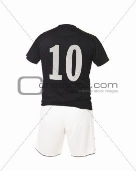Football shirt with number 10