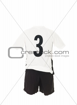 Football shirt with number 3