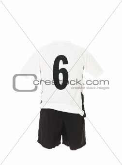 Football shirt with number 6