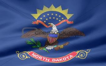 Flag of North Dakota - USA
