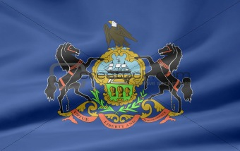 Flag of Pennsylvania - USA