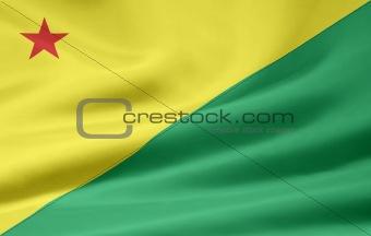 Flag of Acre - Brazil