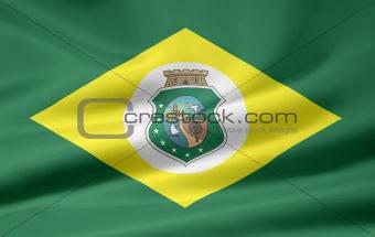 Flag of Ceara- Brazil