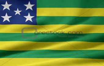 Flag of Goias- Brazil
