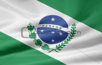 Flag of Parana - Brazil