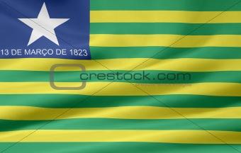 Flag of Piaui Brazil